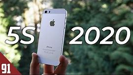 Using the iPhone 5S in 2020 - Review