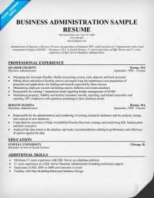 advanced excel resume sle business admin resume free excel templates