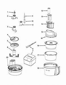 Kitchenaid Kfp1330cu0 Food Processor Parts