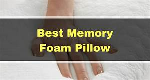 best memory foam pillows for sleepers great options for With best memory foam pillow for back sleepers