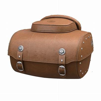 Leather Genuine Trunk Indian Tan Quick Release
