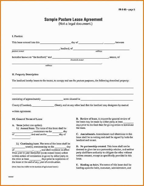 good lease break agreement template oa