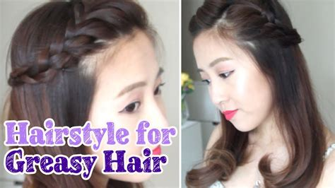 Hairstyles For Hair by Hairstyle For Greasy Hair Days