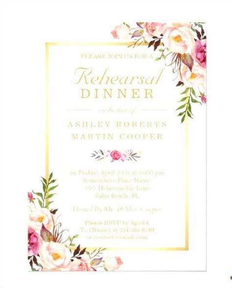 Formal Dinner Invitation Card Template Cards Design