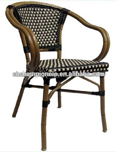 chaise bistrot rotin pas cher
