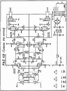 Carad Pas49 2xecl86 Amplifier 1963 Sch Service Manual