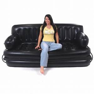 smart air beds king sized 5 x 1 inflatable sofa bed black With best inflatable sofa bed