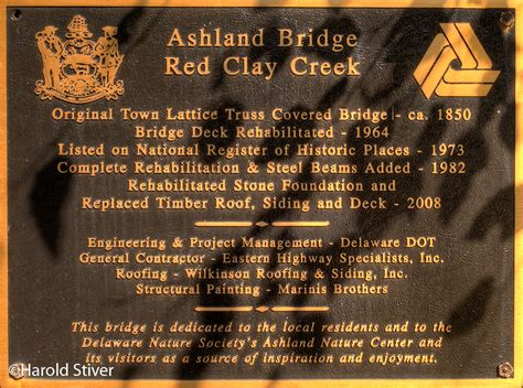 Ashland Covered Bridge, Delaware | Nature Notes