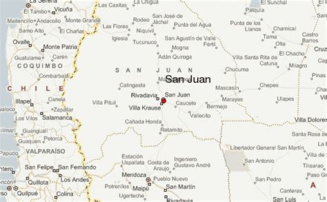 San Juan Location Map