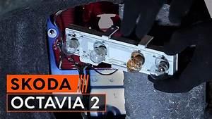 Wie Skoda Octavia 2  1z3  R U00fccklicht Lampe Wechseln