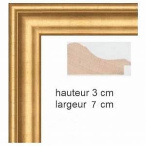 Cadre Marie Louise : cadre bois dor sur mesure cadre tableau en vente sur cadres et hauteur en cm ~ Melissatoandfro.com Idées de Décoration