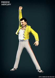 Freddie Mercury Queen Pose