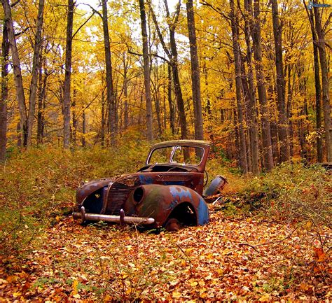 Old Ruined Car