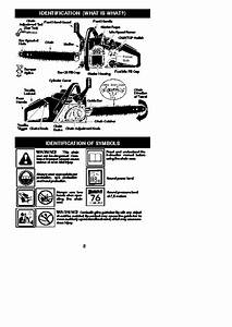 Mcculloch 441 442 Chainsaw Owners Manual  2001 2002 2003