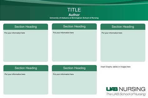 poster samples poster template case presentation poster template