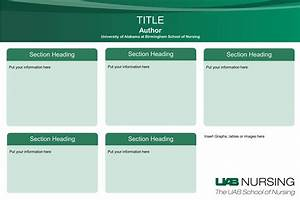 5 poster templates word excel pdf templates for Eposter template