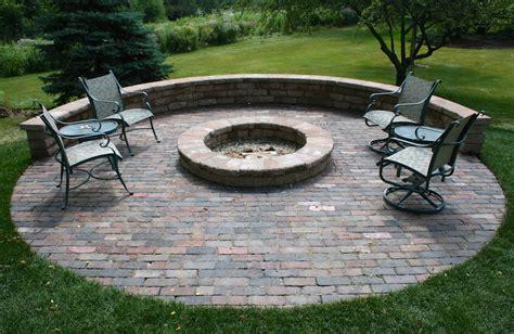 built in outdoor pit custom built outdoor living hardscape fireplace contractors chicago