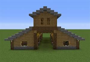 Wooden Stable - GrabCraft - Your number one source for ...