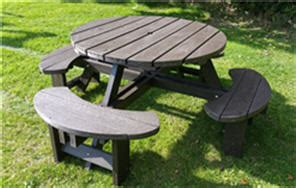 plastic composite picnic tables recycled plastic composite picnic table bench excalibur