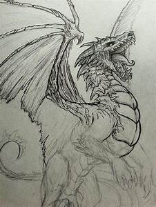25+ Best Ideas about Dragon Drawings on Pinterest ...