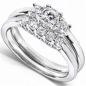Diamond wedding bands for women wardrobelookscom for Ladies diamond wedding ring sets