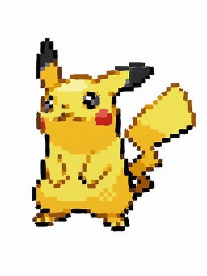 Pikachu Pixel Pixels Pixelated Clipart Wild Transparent