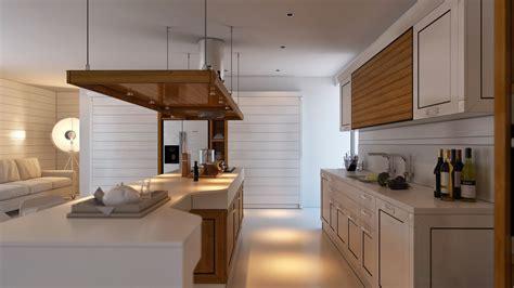 Suspended cooker hood   Interior Design Ideas.