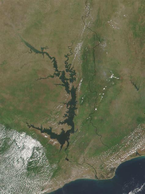 nasa visible earth lake volta ghana