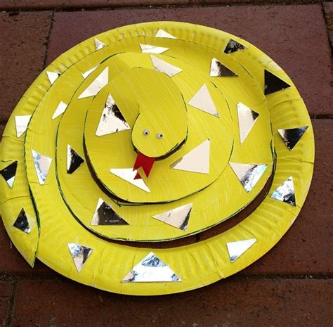 paper plate animals wide bay 131 | Snake