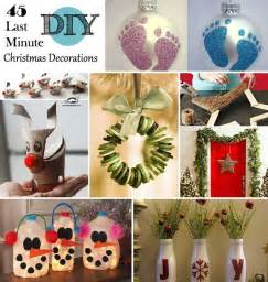 45 budget pleasant last minute diy christmas decorations 2015 interior design ideas