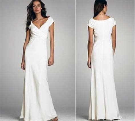 casual wedding dresses - Casual White Wedding Dress