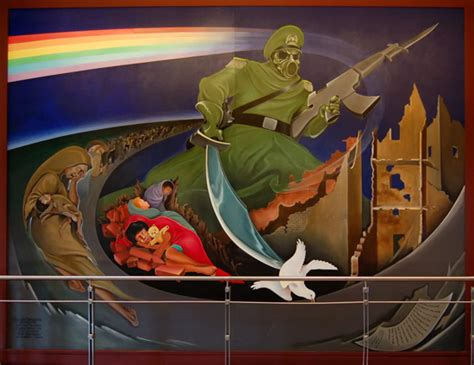 Denver Airport Murals Conspiracy Debunked by Fused News Denver Airport The