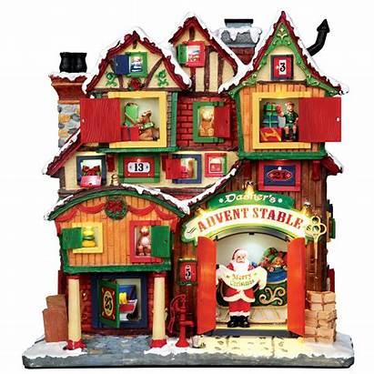Christmas Lemax Village Advent Building Villages Dasher