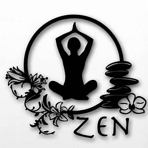 Yoga Wall Sticker Zen Meditation Yoga Health Mantra