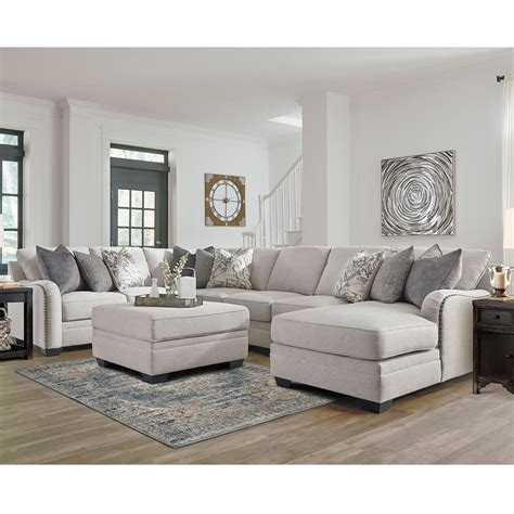 Signature Design by Ashley Dellara 4 Piece Sectional and