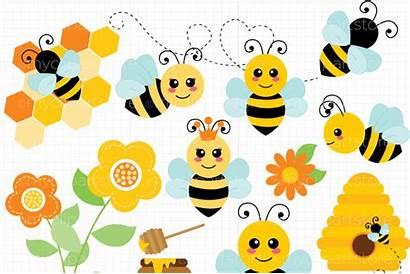 Bee Svg Bumble Vector Cut Honey Bees