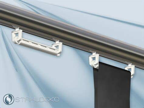Schlaufenvorhang An Schiene Befestigen by Aluprofile Profil Aus Aluminium Als Rohr Mit Innenlauf