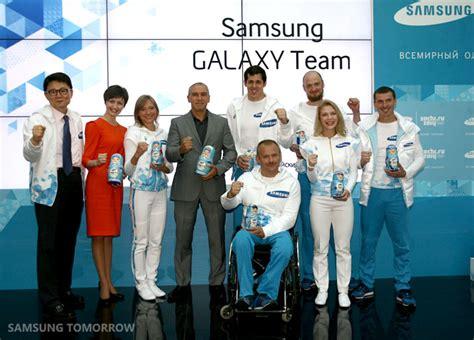 samsung presents its samsung galaxy team for sochi 2014 led by russian hockey