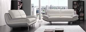 photos canape moderne cuir With salon en cuir moderne