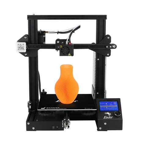 Resume 3d Printing by Creality Ender 3 3d Printer Economic Ender Diy Kits With