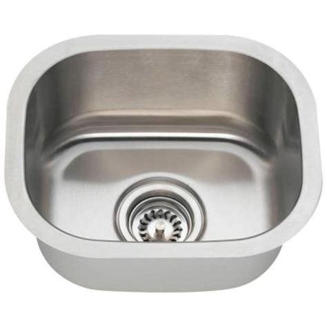 Home Depot Stainless Bar Sink by Polaris Sinks Undermount Stainless Steel 15 In 0