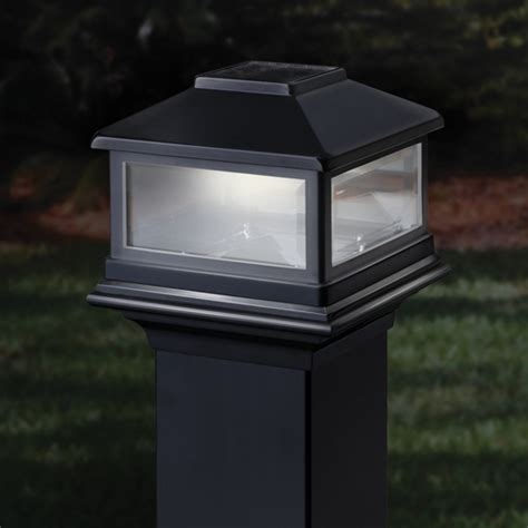 Home Depot Deck Rail Lighting by Deckorators Solar Post Cap Light