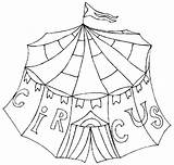 Circus Coloring Pages Animals Carnival Clown Sheet sketch template