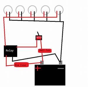Headache Rack Lights  Swamp Lights Installation Question