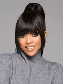 wavy hair extensions snap front by vivica fox clip in bangs wigs
