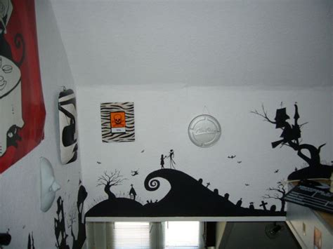 nightmare before wall painting home decor nightmare before before
