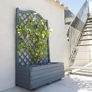 Treillis Bois Leroy Merlin : leroy merlin jardiniere bois digpres ~ Melissatoandfro.com Idées de Décoration