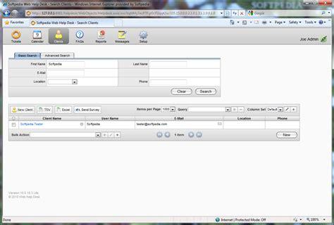 web help desk software free download