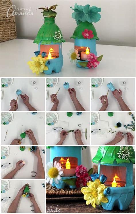 plastic bottle fairy house night lights usefuldiycom
