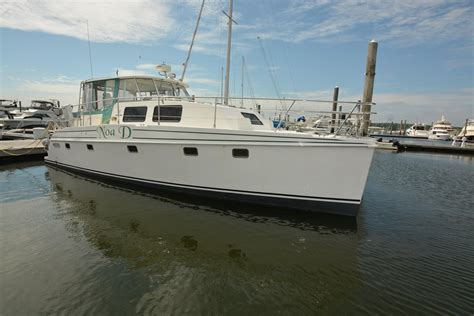 Cat Boats For Sale Long Island by 2003 Endeavour Catamaran 44 Trawler Cat Power Boat For